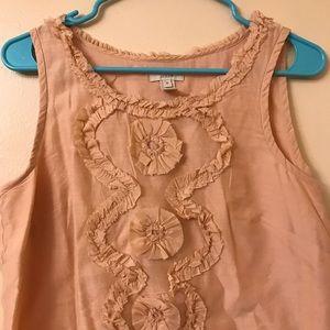 Jcrew Shoulder blouse